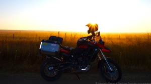 BMW, F800 GS, sunrise, South Africa, adventure, motorcycle, travel, Lesotho